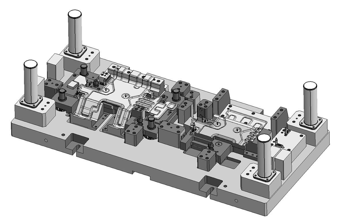 CAD-Zeichnung als Symbolbild für Konstruktion